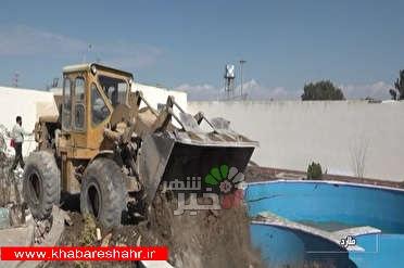 تخریب حدود ۵۰۰ ویلا و آزادسازی ۷۲ هکتار از اراضی کشاورزی / آزادسازی بستر رودخانه از ویلاهای غیرمجاز