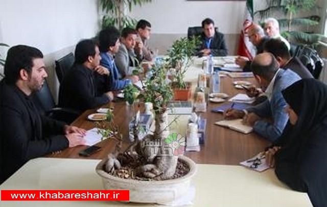 برگزاری جلسه هماهنگی برنامه های هفته پدافند غیر عامل شهرستان شهریار