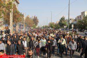 پیاده روی جاماندگان اربعین حسینی در شهرستان ملارد
