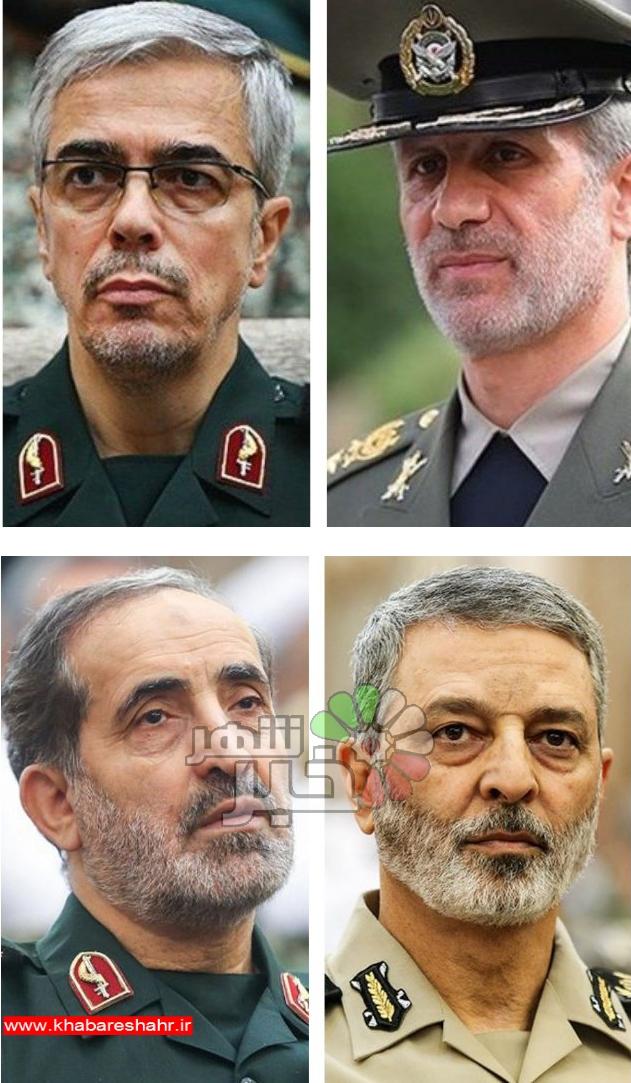 وعده ۴ فرمانده برای ادامه انتقام/ تروریستها منتظر باشند