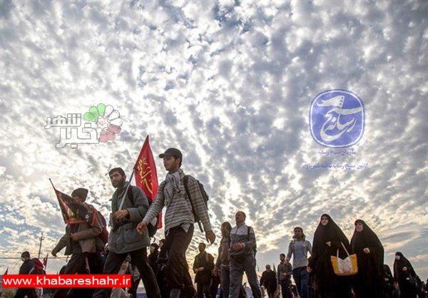 برگزاری راهپیمایی نمادین اربعین حسینی از شاهد شهر تا شهر شهریار