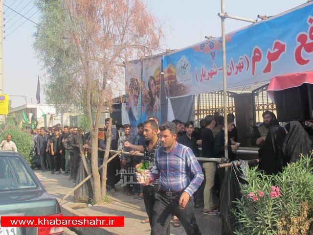 مصاحبه با خادم موکب شهدای مدافع حرم شهرستان شهریار در مرز مهران