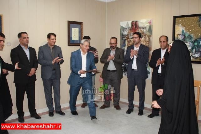 برگزاری مراسم اختتامیه نمایشگاه گروهی خوشنویسی و نقاشیخط استاد مراد فتاحی درشهرستان شهریار
