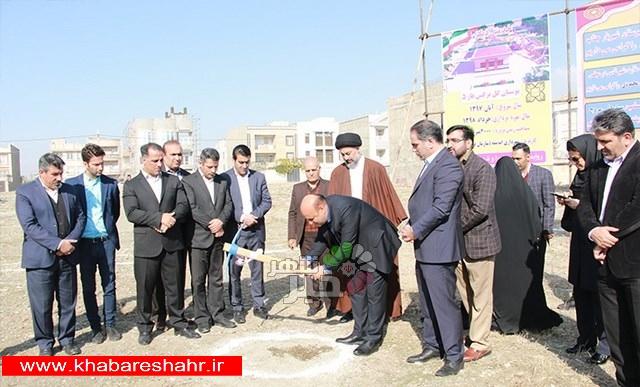مراسم کلنگ زنی پروژه بوستان گل نرگس در فاز ۵ اندیشه