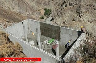 دو پروژه مخزن آب 5 و 10 هزارمترمکعبی در شهریار در دست احداث است