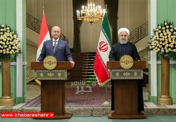 روحانی: روابط تجاری ایران و عراق ۲۰میلیارد دلار میشود