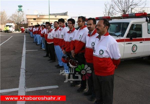 اجرای طرح حمایتی هلال احمر در شهرستانهای استان تهران