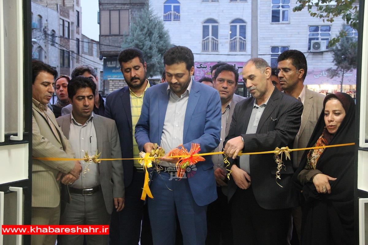 کتابخانه عمومی شهید رجائی شهرستان ملارد بازگشایی شد
