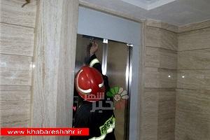 افزایش ۸۷ درصدی حوادث آسانسور در شهریار