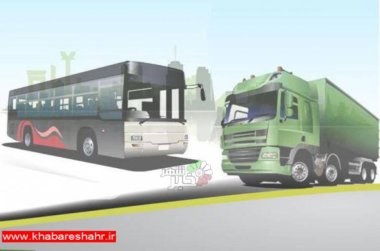 الزام دریافت پروانه اشتغال برای کلیه رانندگان ناوگان حمل و نقل بار و مسافر درون شهری