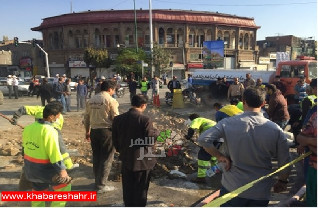 ادامه فروریزشهای سریالی در پرخطرترین مسیر تهران/نشست دیگر بعد از پر کردن حفره ۸ متری