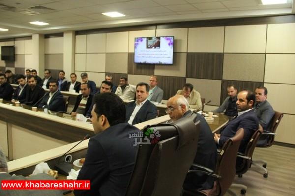 نشست پرسنلی کارکنان فرمانداری و بخشداریهای تابعه شهرستان ملارد