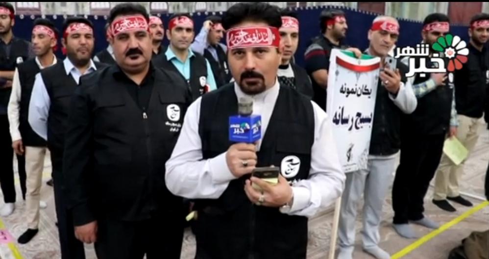 تجدید میثاق بسیج رسانه با بنیانگذار جمهوری اسلامی در هفته وحدت