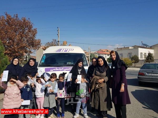 بازدید مسئولین اورژانس اجتماعی بهزیستی شهریار از مهدهای کودک به مناسبت 28 آبان روز مبارزه با کودک آزاری