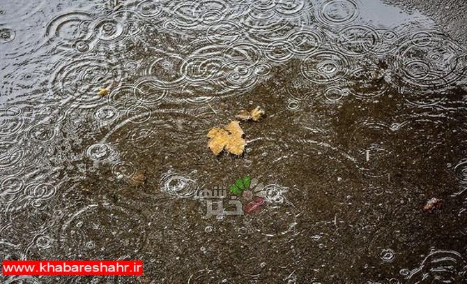 ادامه بارندگی در بیشتر مناطق کشور