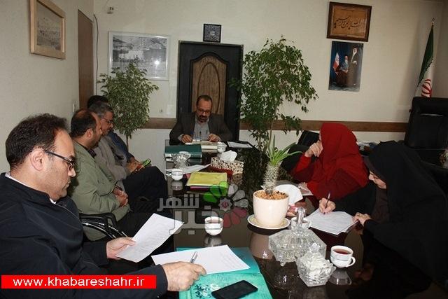 برگزاری جلسه کارگروه فرهنگی هنری چهلمین سالگرد پیروزی انقلاب اسلامی شهرستان شهریار