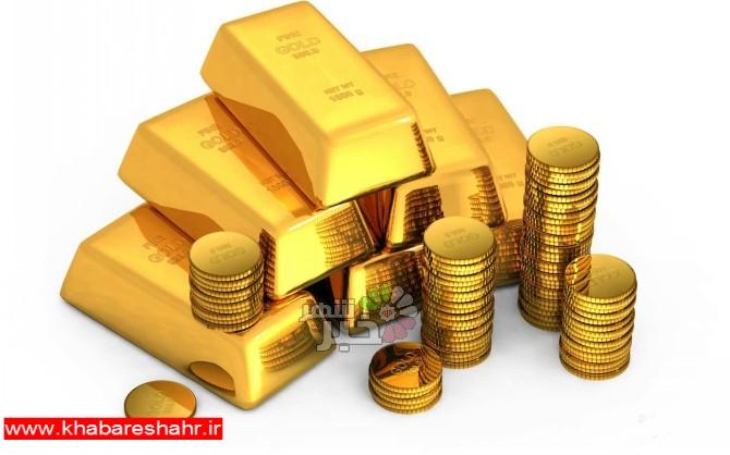 قیمت جهانی طلا امروز ۱۳۹۷/۱۱/۱۹