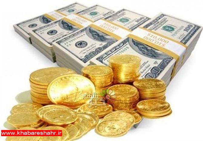 قیمت طلا، قیمت دلار، قیمت سکه و قیمت ارز امروز ۹۸/۰۳/۱۲