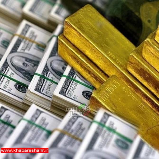 قیمت طلا، قیمت دلار، قیمت سکه و قیمت ارز امروز ۹۸/۰۱/۱۷