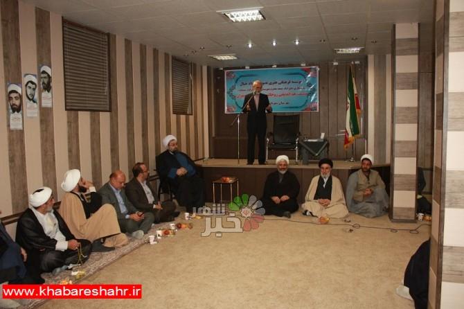 برگزاری نشست هم اندیشی روحانیون غرب استان تهران با حضور مدیرکل فرهنگ و ارشاد اسلامی استان تهران