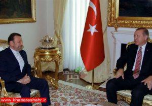 واعظی در دیدار اردوغان: هیچ محدودیتی در گسترش روابط با ترکیه قائل نیستیم
