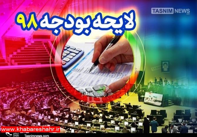 رونمایی لایحه بودجه ۹۸ با حضور رییس سازمان برنامه و بودجه