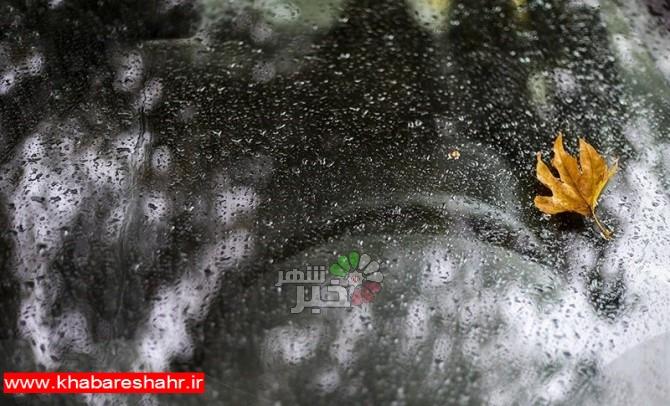 آخرین وضعیت بارشهای ایران/سرعت رشد بارشها کُند شد+جدول