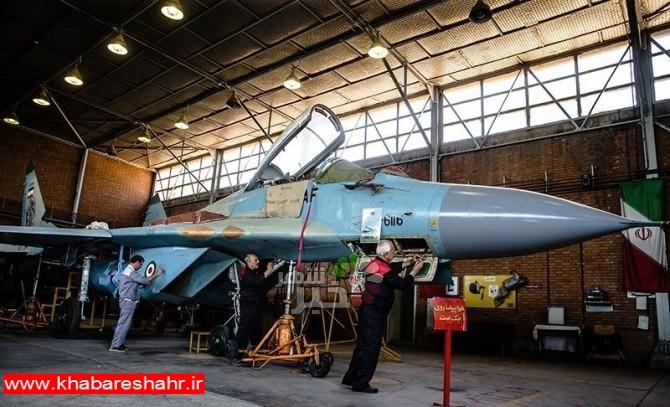 گزارش ویدئویی از اورهال جنگنده میگ۲۹