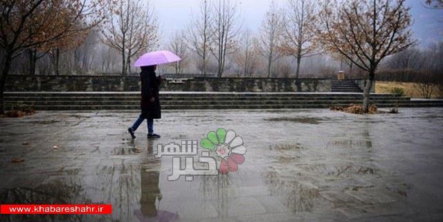 باد و باران در تهران/هشدار یخزدگی جادهها در نقاط سردسیر