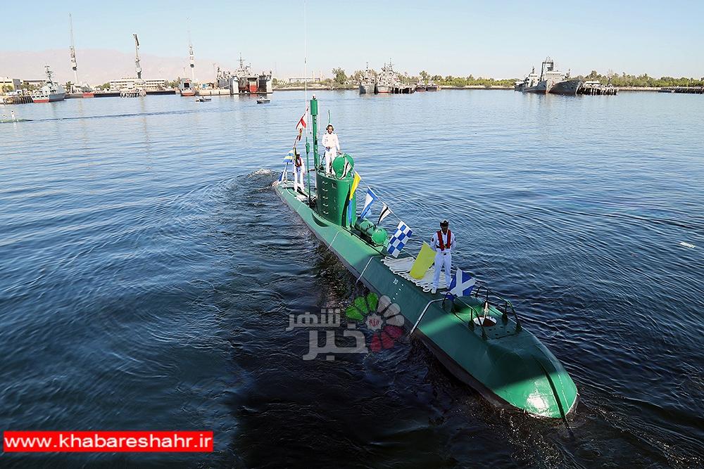 مشخصات زیردریایی ایرانی که میتواند شناور هزار تُنی را ظرف ۱۰ ثانیه به اعماق دریا ببرد + تصاویر