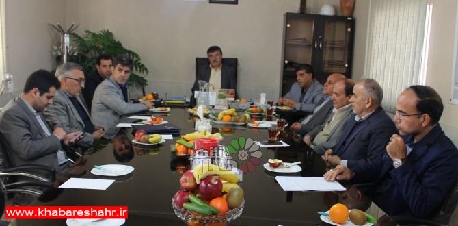 بازدید رئیس دانشگاه از پروژه بیمارستان 313 تختخوابی امام خمینی(ره) شهرستان شهریار و امضاء تفاهم نامه تکمیل بیمارستان
