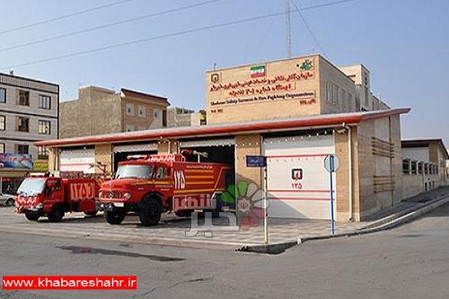 احداث یک ایستگاه آتش نشانی در شرق فاز یک اندیشه در مرحله مطالعه وبررسی است