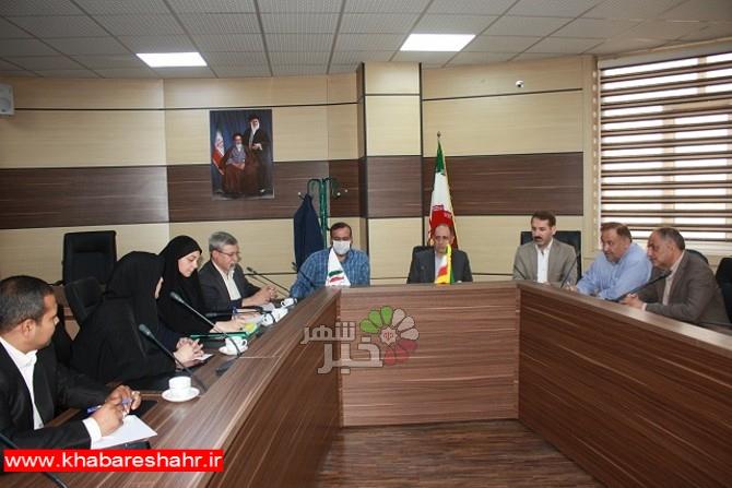 برگزاری جلسه انجمن کتابخانه ها درشهر فردوسیه