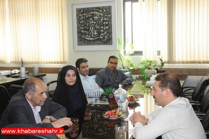 برنامه های مشترک فرهنگی نقطه عطف دیدار و گفتگو با مدیر کل کتابخانه های استان تهران