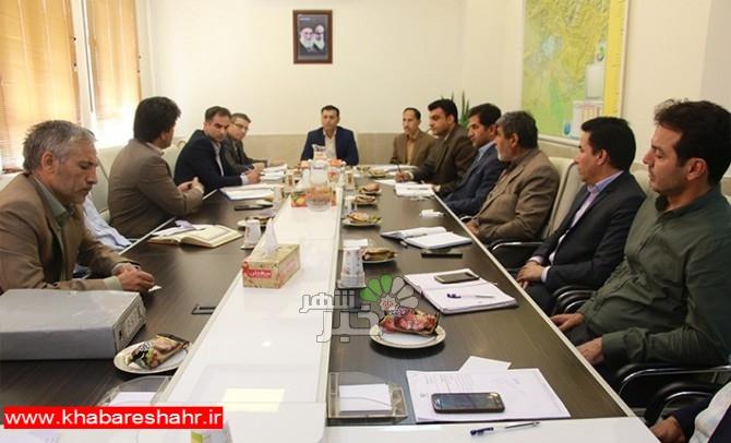 برگزاری جلسه کارگروه آرد و نان شهرستان شهریار