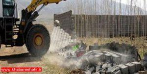 تخریب ۸۰۰ مورد ساخت و ساز غیر مجاز در شهرستان شهریار