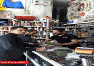 گشت مشترک بازرسی از واحدهای صنفی شهرستان ملارد