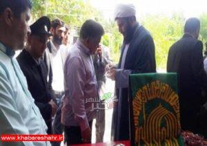 بازدید خادمین بارگاه ملکوتی حضرت ثامن الحجج (ع) از مراکز بهزیستی شهرستان ملارد