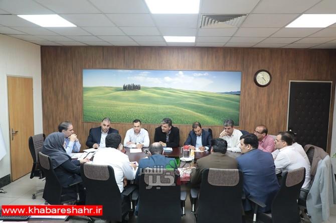 جلسه شورای معاونین شهرداری شهر اندیشه در دفتر شهردار تشکیل شد