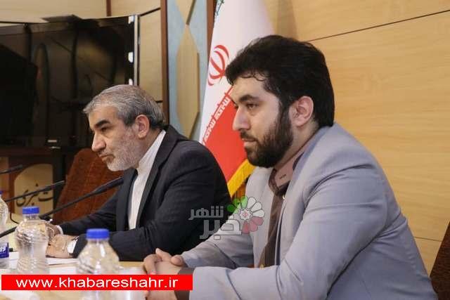 نشست اعضاء فراکسیون نمایندگان ولایی شورای عالی استانها و سخنگوی شورای نگهبان
