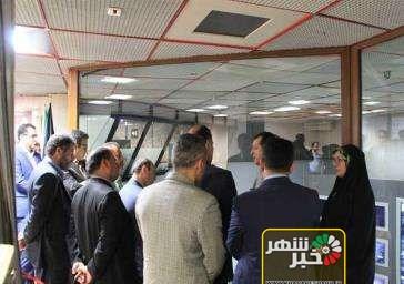 بازدید مسئولان شهرستان قدس از سازمان حمل و نقل و ترافیک شهرداری تهران