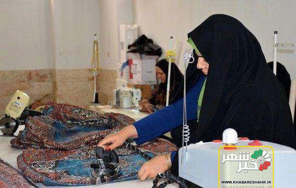 کارگاه آموزشی زیورآلات فرش ویژه زنان سرپرست خانوار شهرستان ملارد