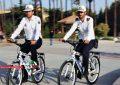 پلیس دوچرخه سوار در قزوین راهاندازی شد