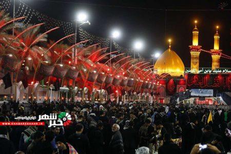 حال هوای نجف در ایام اربعین حسینی