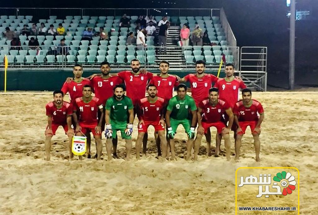 تیم ملی فوتبال ساحلی در دیداری دوستانه عمان را شکست داد