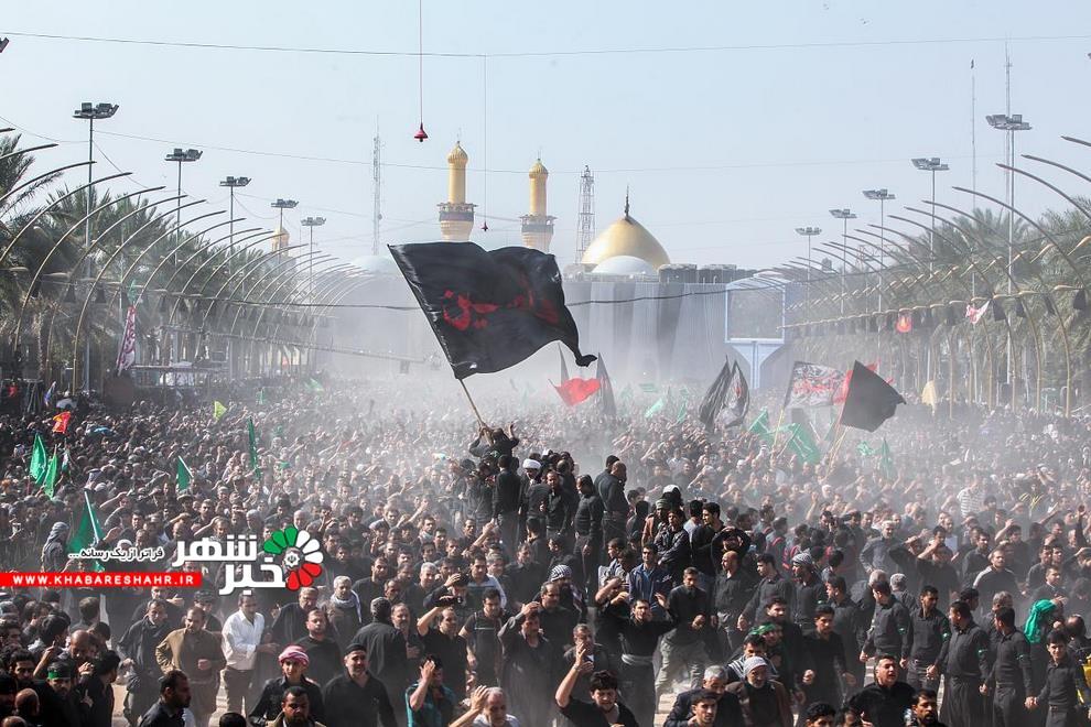 شکوه اربعین در شهر کربلا