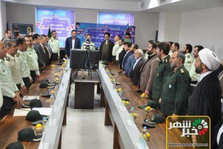 ستادفرماندهی انتظامی شهرستان ملارد وپلیس راه صفادشت افتتاح شد