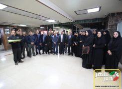 خادمین  ستاد اربعین استانداری تهران عازم کربلای معلی شدند+عکس