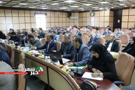 گزارش تصویری از نشست ستاد باز آفرینی شهرستان شهریار