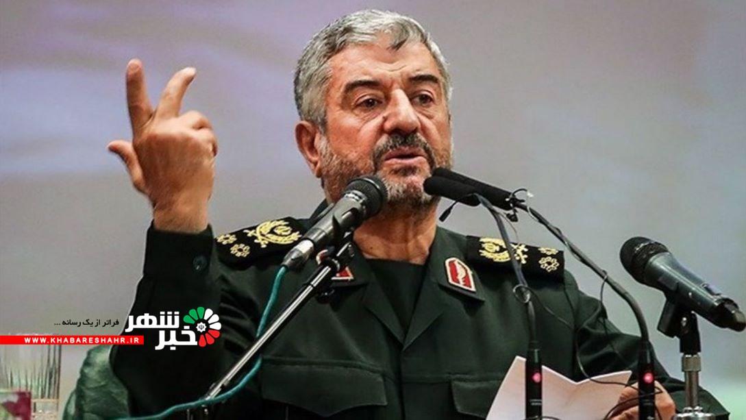 واکنش سرلشکر جعفری به ادعای ترامپ درباره حمله نظامی به ایران